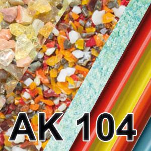 GLAS FRITTEN - AK 104
